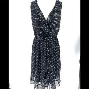 MOTHERHOOD~ Large Maternity wrap sleeveless dress